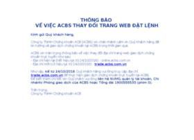 online.acbs.com.vn