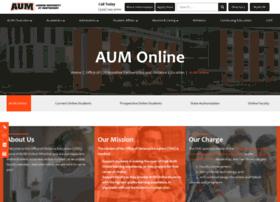 online.aum.edu