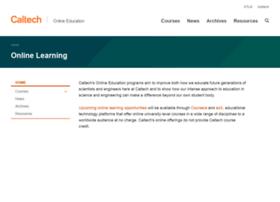 online.caltech.edu