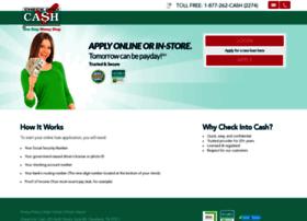 Online.checkintocash.com