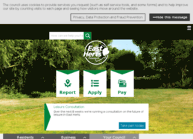 online.eastherts.gov.uk