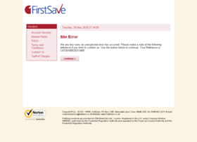 online.firstsave.co.uk