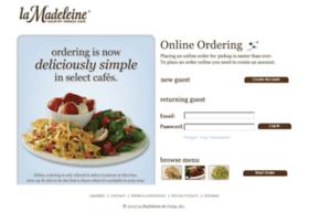 online.lamadeleine.com