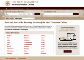 online.recoveryversion.org