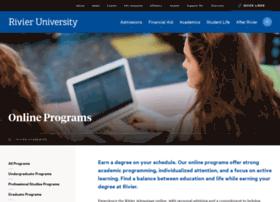 online.rivier.edu