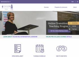 online.taylor.edu