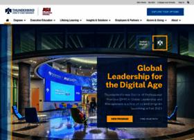 online.thunderbird.edu