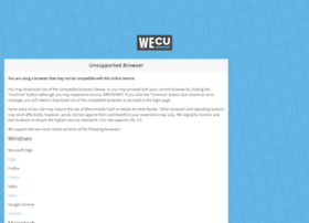online.wecu.com