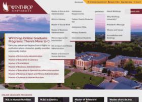 online.winthrop.edu