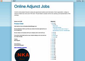 onlineadjunctjobs.blogspot.com