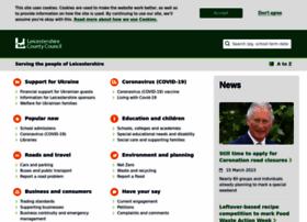 onlineadmissions.leics.gov.uk