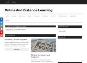 onlineanddistancelearning.com