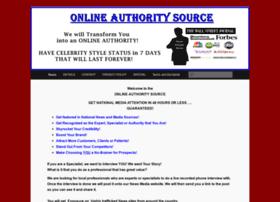 onlineauthoritysource.com