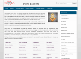 onlinebankinfo.com