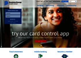 onlinebanking.dominioncu.com