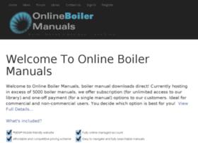 onlineboilermanuals.com