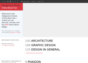 onlinebookfair.designersandbooks.com