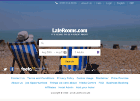 onlinebooking.laterooms.com