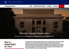 onlinebusiness.american.edu