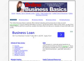 onlinebusinessbasics.com