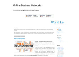 onlinebusinessnetworks.blogspot.com