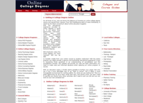 onlinecollege-degrees.net