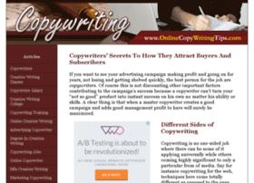 onlinecopywritingtips.com