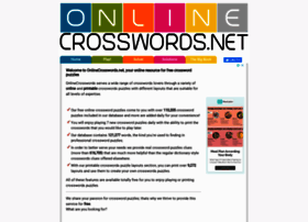 onlinecrosswords.net