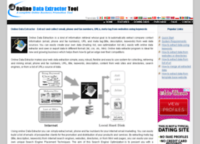 onlinedataextractor.com