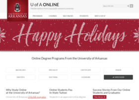onlinedegree.uark.edu