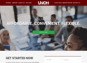 onlinedegrees.unoh.edu