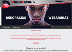 onlinedekor.hu