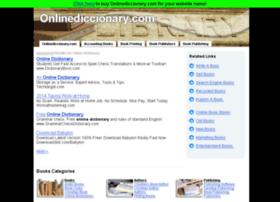 onlinediccionary.com