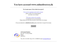 onlinedirectory.lk