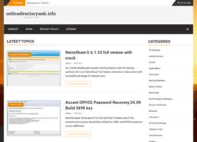onlinedirectoryweb.info