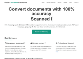 onlinedocumentconversion.com