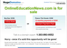 onlineeducationnews.com