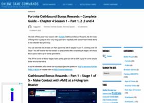 onlinegamecommands.com