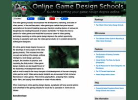 onlinegamedesignschools.org