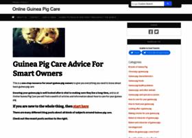 onlineguineapigcare.com