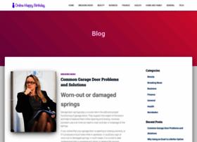 onlinehappybirthday.com