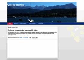 onlinehiatus.blogspot.com
