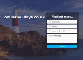 onlineholidays.co.uk