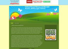 onlinehorsegames.angelfire.com