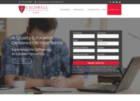 onlineinfo.caldwell.edu
