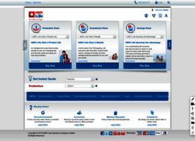 onlineinsurance.hdfclife.com