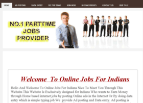 onlinejobsforindians.yolasite.com