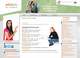 onlinejobsforstudents.com
