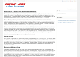 onlinejobswithoutinvestment.in
