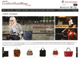 onlineleatherhandbags.com